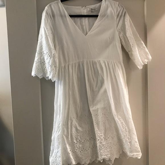 Madewell Dresses & Skirts - Madewell eyelet mini dress
